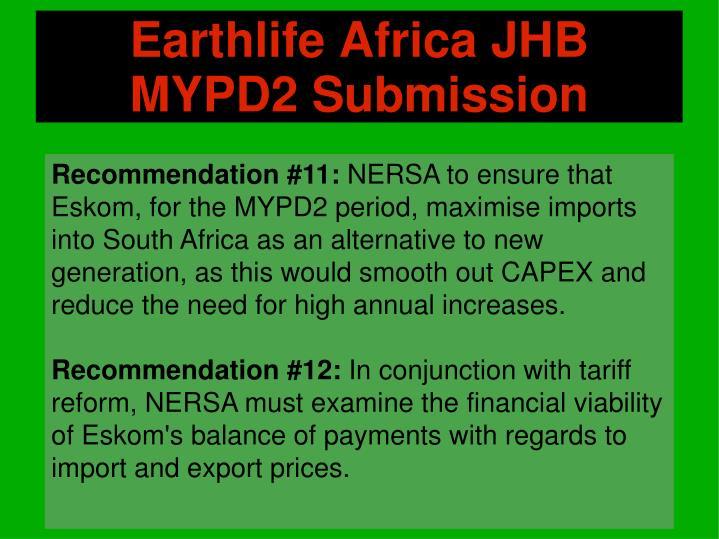 Earthlife Africa JHB