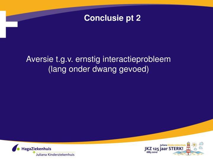Conclusie pt 2