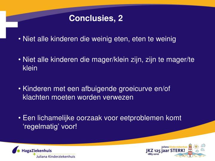 Conclusies, 2