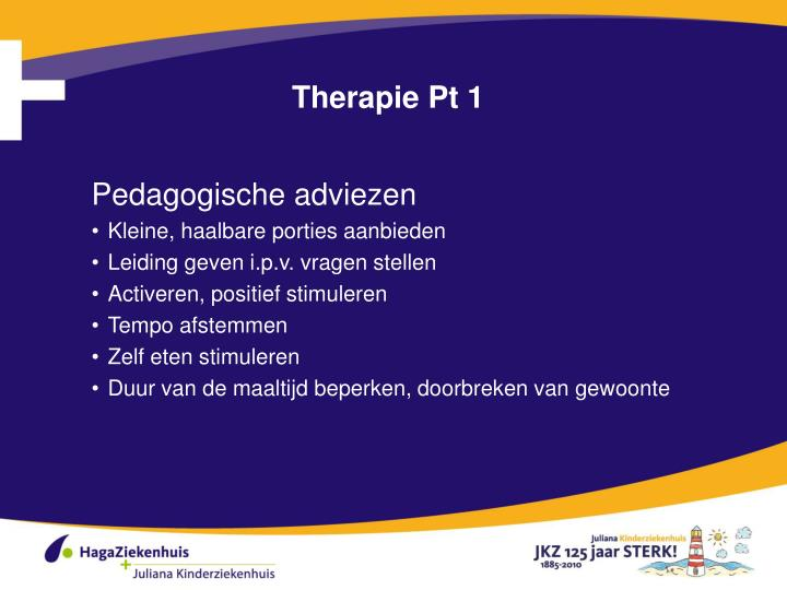 Therapie Pt 1