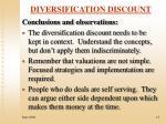 diversification discount11