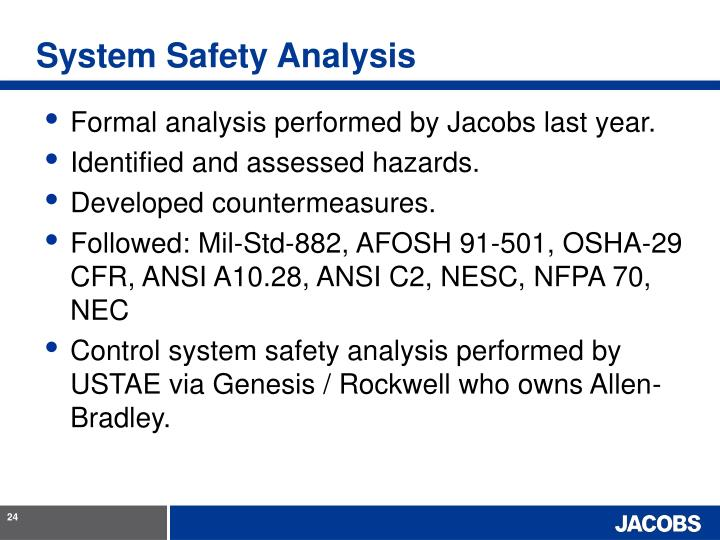 System Safety Analysis