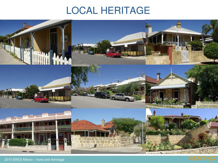 LOCAL HERITAGE