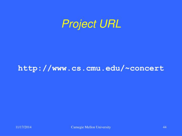 Project URL