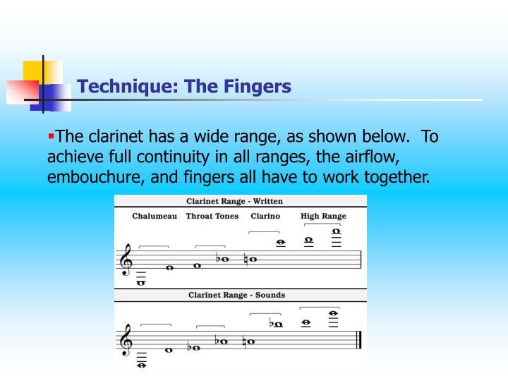 Technique: The Fingers