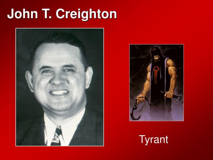 John T. Creighton
