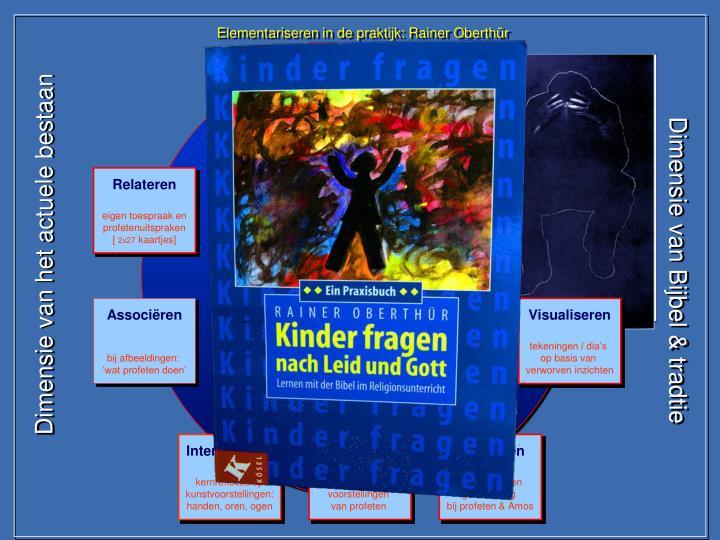 Elementariseren in de praktijk: Rainer Oberthür