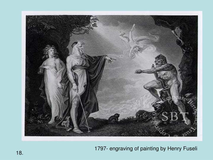 1797- engraving of painting by Henry Fuseli