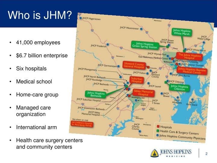 Who is JHM?