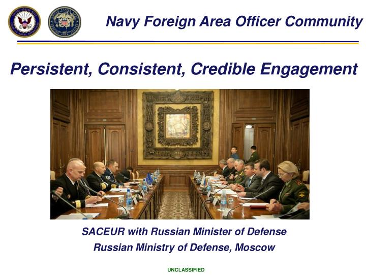 Navy Foreign Area Officer Community