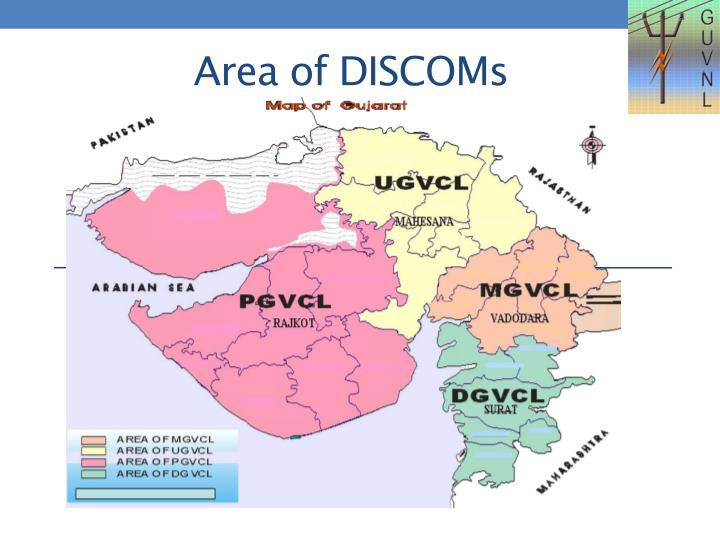 Area of DISCOMs