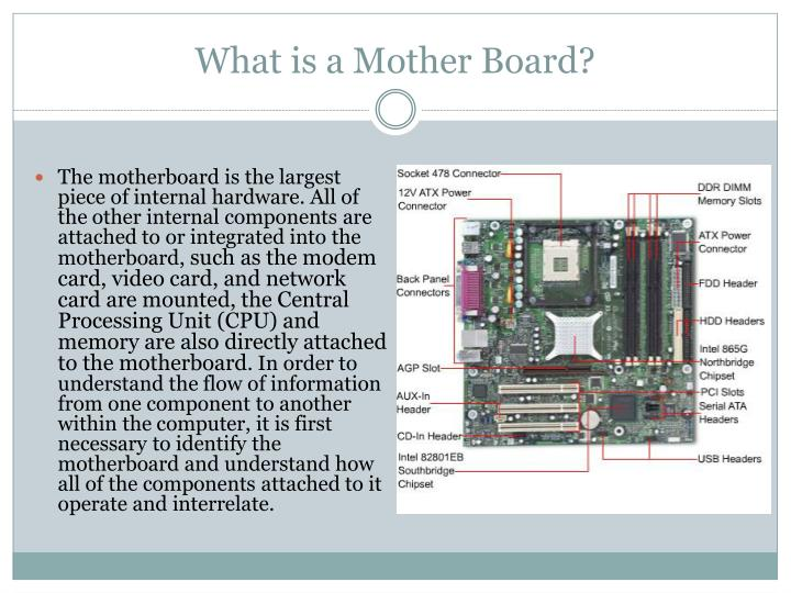 What is a mother board