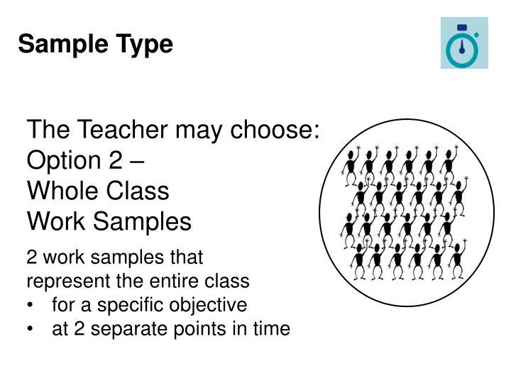 Sample Type