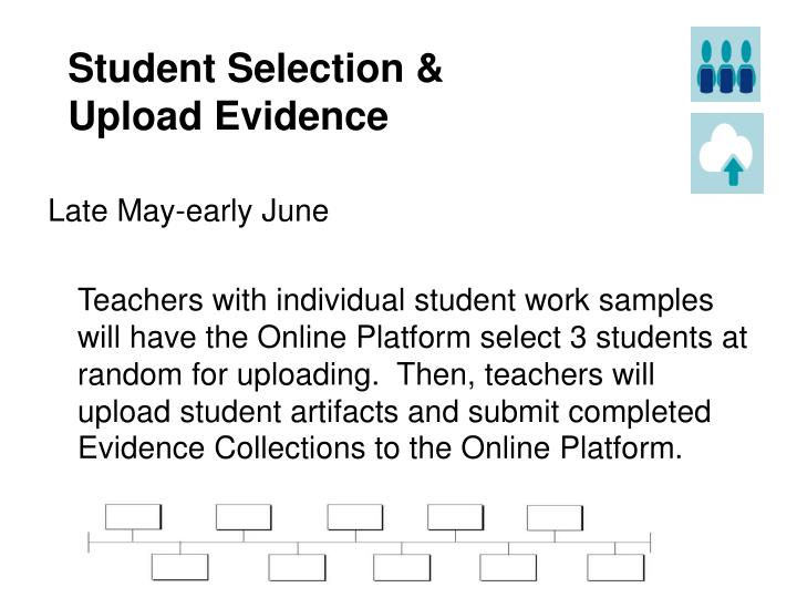 Student Selection &