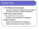 citation tips