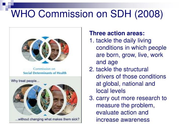 WHO Commission on SDH (2008)