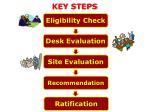 key steps