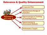 relevance quality enhancement2