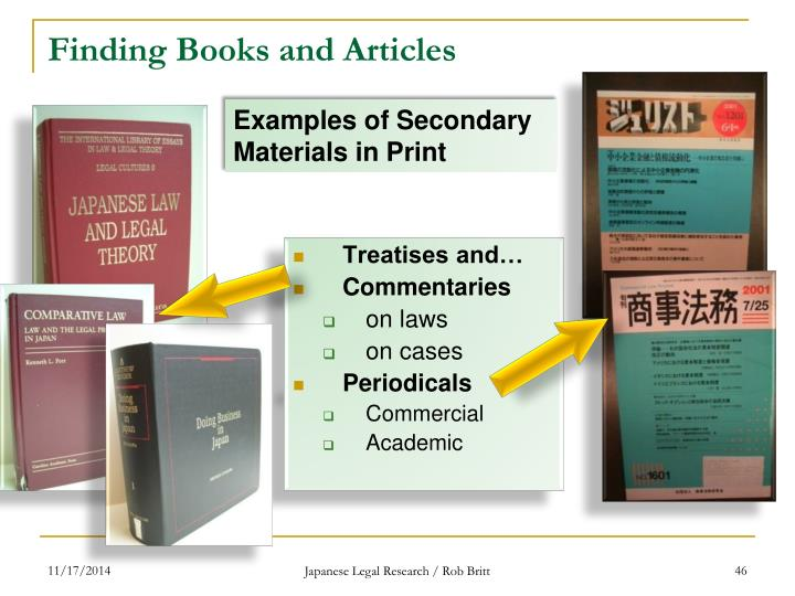 Finding Books and Articles