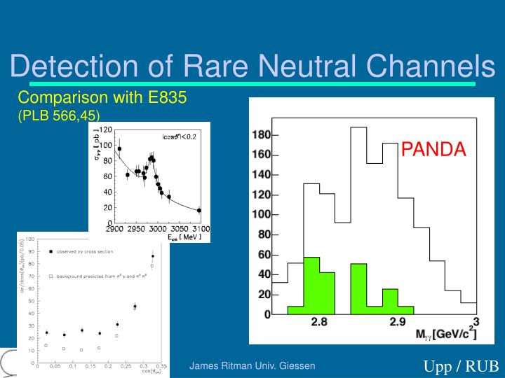 Detection of Rare Neutral Channels