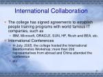 international collaboration1