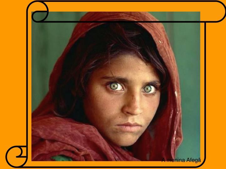 A menina Afegã