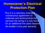 homeowner s electrical protection plan