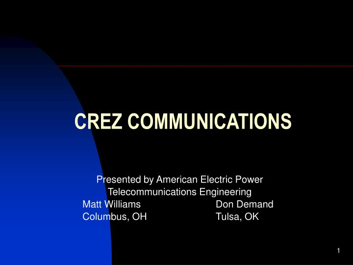 Presented by American Electric Power
