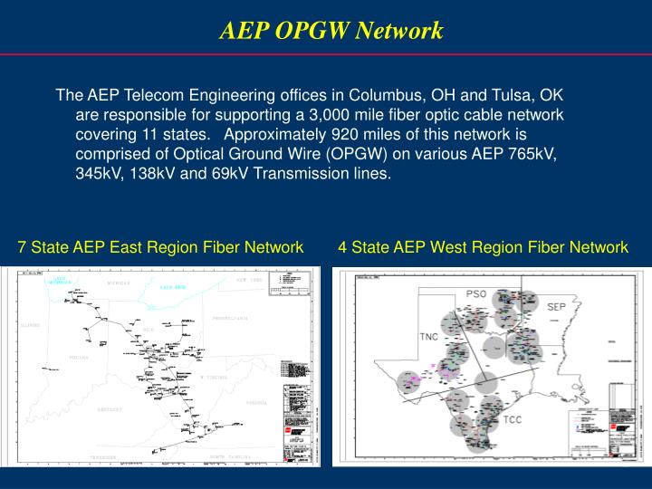 AEP OPGW Network