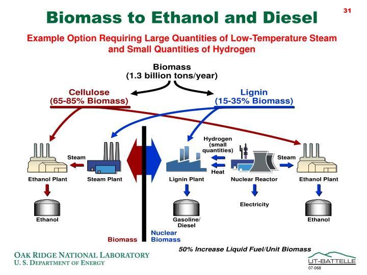 Biomass to Ethanol and Diesel