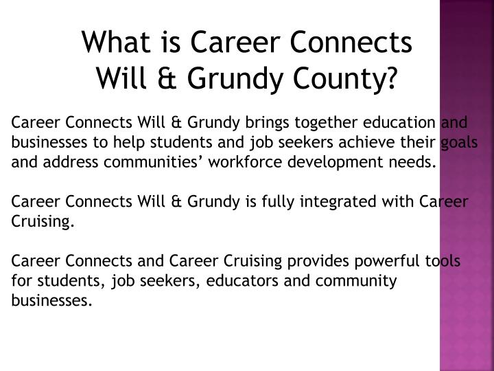 What is Career Connects