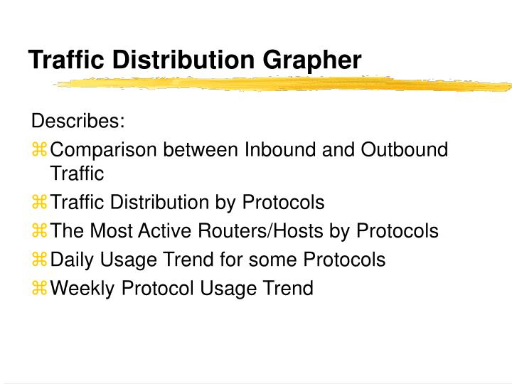 Traffic Distribution Grapher