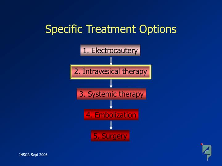 Specific Treatment Options