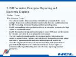 3 bill formatter enterprise reporting and electronic stapling