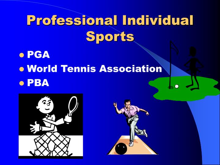 Professional Individual Sports