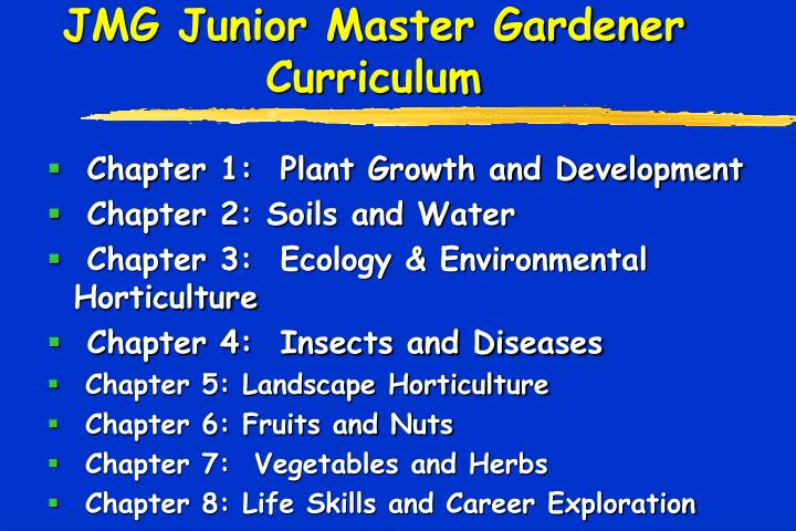 Chapter 1:  Plant Growth and Development