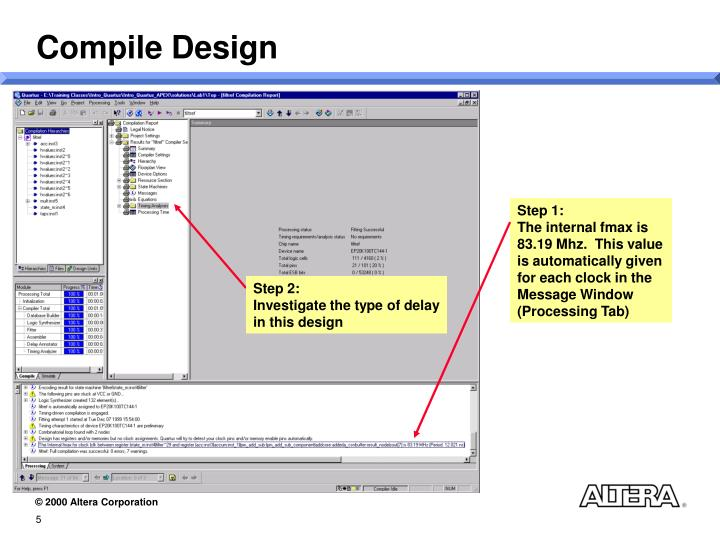 Compile Design