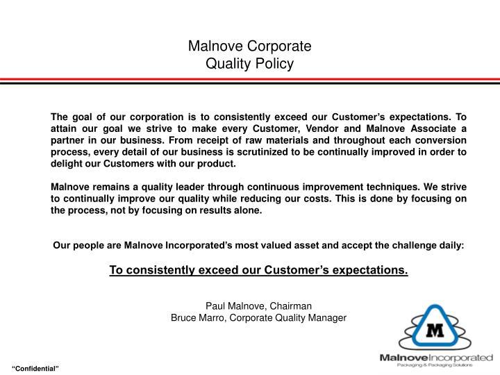 Malnove Corporate
