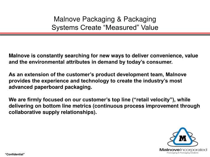 Malnove Packaging & Packaging