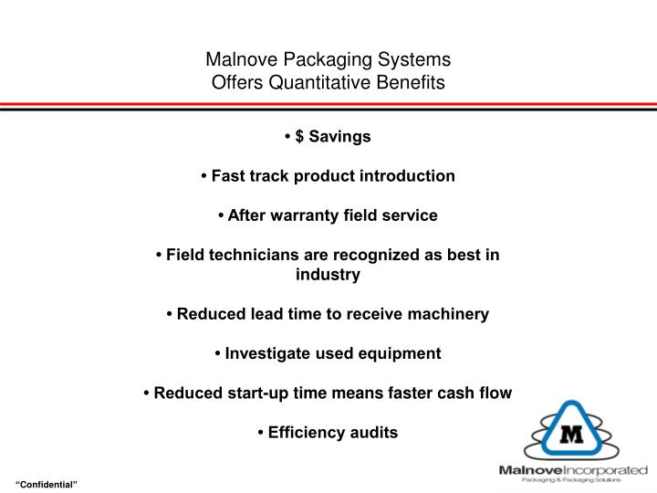 Malnove Packaging Systems
