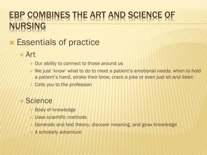 Essentials of practice