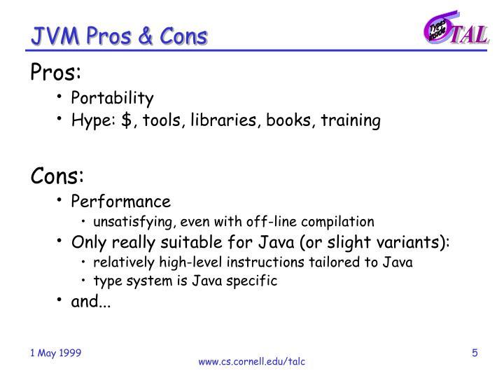 JVM Pros & Cons