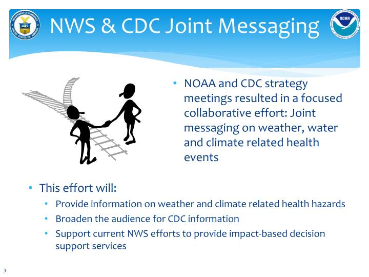 Nws cdc joint messaging