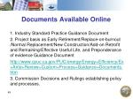 documents available online