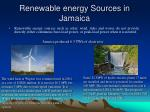 renewable energy sources in jamaica