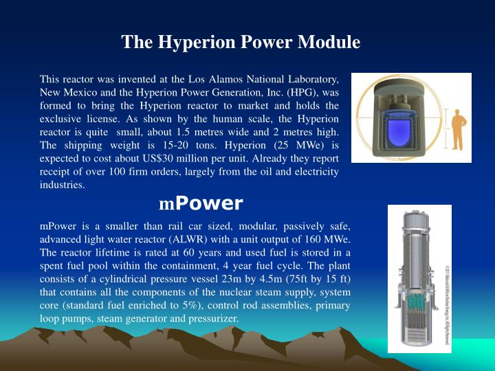 The Hyperion Power Module