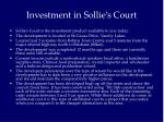 investment in sollie s court
