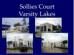 sollies court varsity lakes