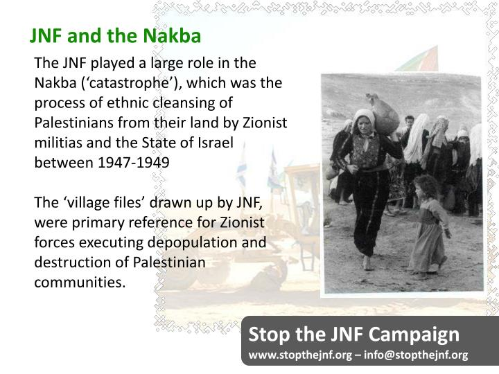 JNF and the