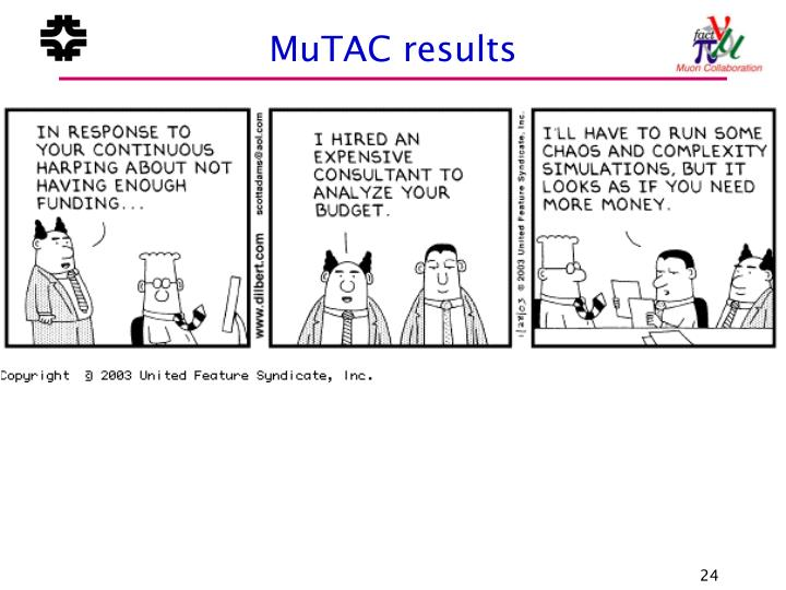 MuTAC results